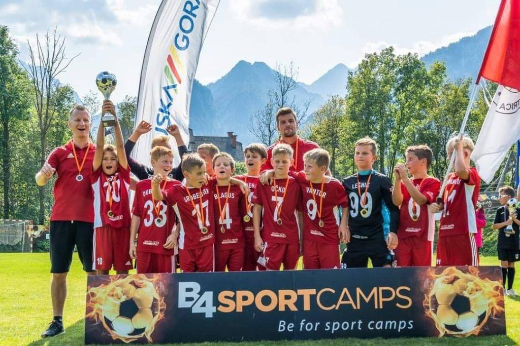 Selekcija U11 osvojila turnir Kranjska Gora Trophy