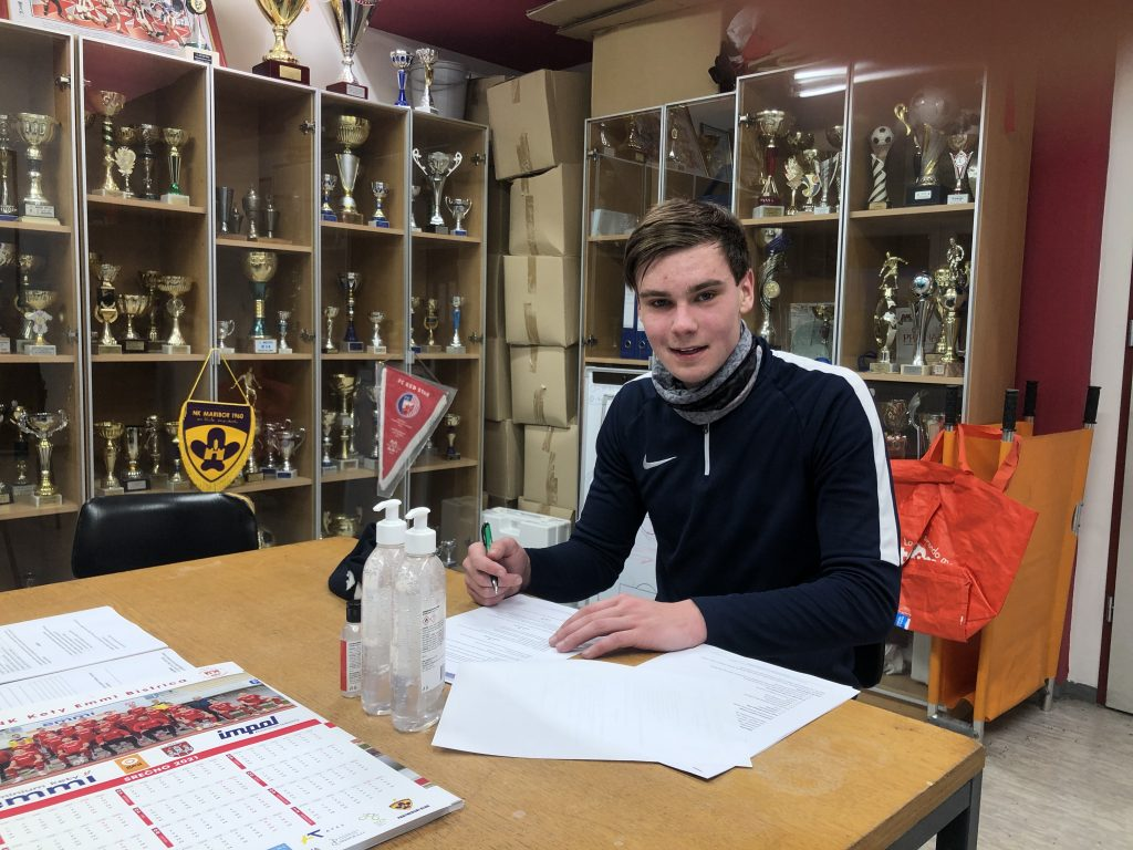 Lan Vidmar podpisal za NK Kety Emmi Bistrica